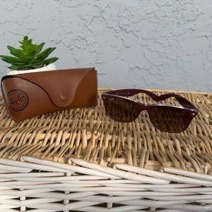 Ray-Ban New Wayfarer Sunglasses + Case